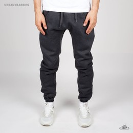 Брюки URBAN CLASSICS Deep Crotch Sweatpants Charcoal фото