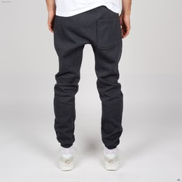 Брюки URBAN CLASSICS Deep Crotch Sweatpants Charcoal фото 2
