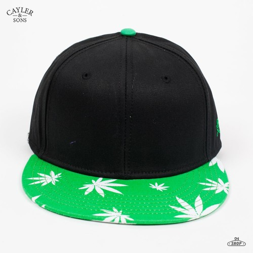 Бейсболка CAYLER & SONS Mary Jane 2-tone (Black-Green, O/S) бейсболка cayler