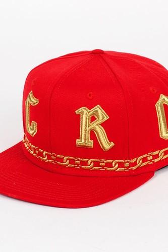 Бейсболка CROOKS & CASTLES I1310813 (True Red, O/S)