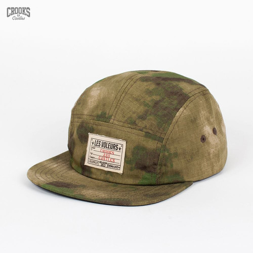 Бейсболка CROOKS & CASTLES I1360800-2 (French-Camo, O/S) бейсболка crooks
