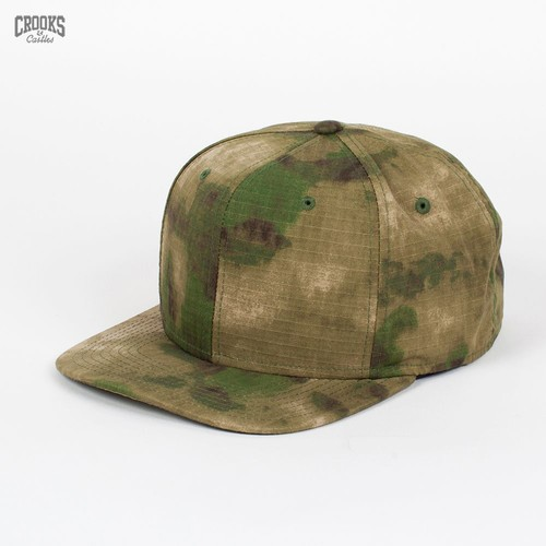 Бейсболка CROOKS & CASTLES I1360801-2 (French-Camo, O/S) бейсболка crooks
