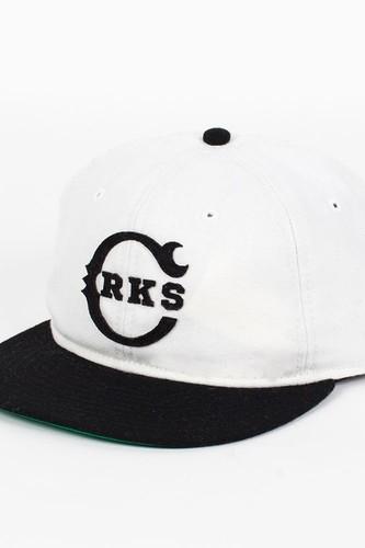 Бейсболка CROOKS & CASTLES I1360804 (Cream-Black, O/S) бейсболка anta anta mp002xu02j0x