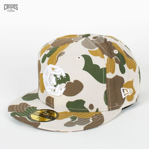 Бейсболка CROOKS & CASTLES I1360817 (Tan-Camo, 7 5/8) бейсболка crooks
