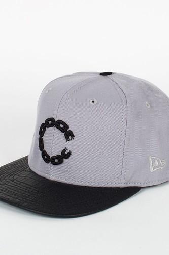 Бейсболка CROOKS & CASTLES I1370812 (Lt-Grey-Black, O/S)