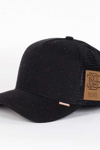 Бейсболка DJINNS Spotted Jersey High Fitted T.cap (Black, O/S)
