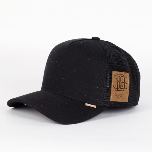 Бейсболка DJINNS Spotted Jersey High Fitted T.cap (Black, O/S) цена