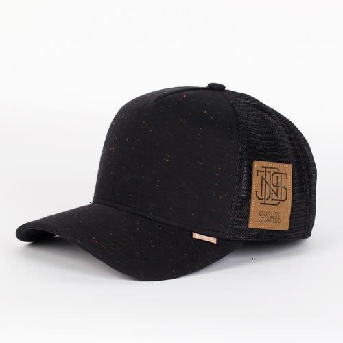 Бейсболка DJINNS Spotted Jersey High Fitted T.cap (Black, O/S) бейсболка djinns hft spotted canvas black o s
