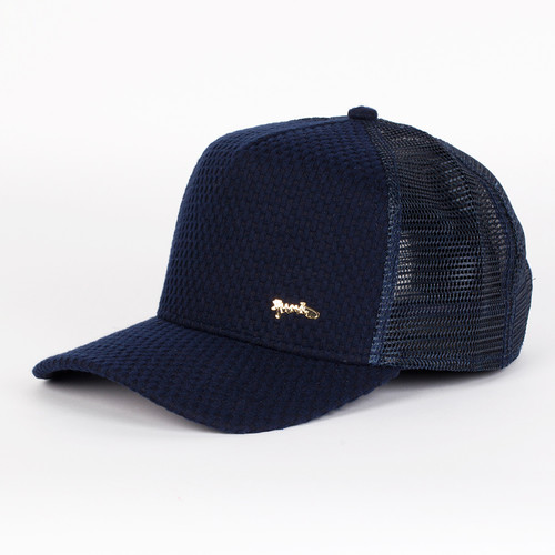 Бейсболка DJINNS Woven Bubble 2014 High Fitted T.cap (Navy, O/S) crossbody woven bag