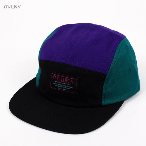 Бейсболка МИШКА Scout 5 Panel (Black, O/S) бейсболка obey washington 5 panel olive o s