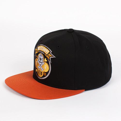 лучшая цена Бейсболка МИШКА Death Dealer Snapback (Black, O/S)