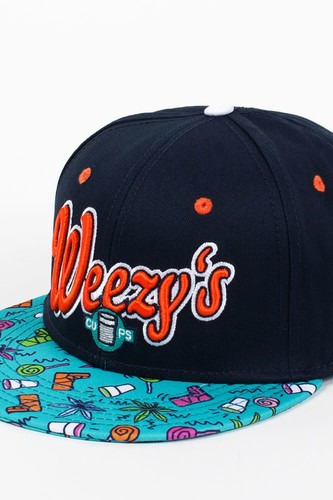 купить Бейсболка CAYLER & SONS Weezy's Cups Cap (Navy-Orange-Mc, O/S) дешево