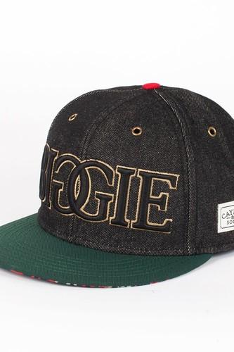 Бейсболка CAYLER & SONS Juicy Cap (Black-Denim-Green-Red, O/S)