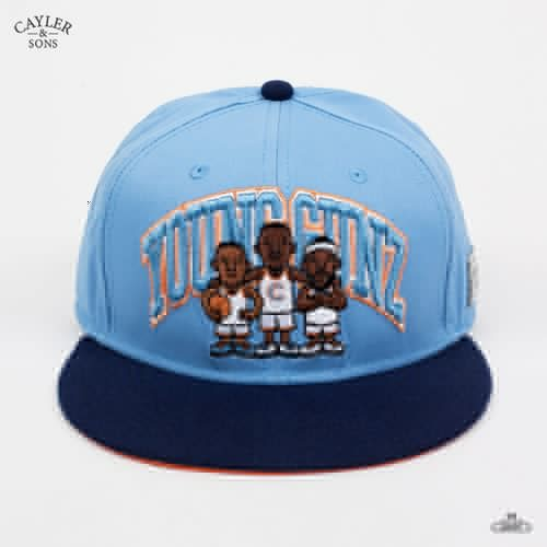 Бейсболка CAYLER & SONS Young Gunz (Cyan-Blue-Navy, O/S) бейсболка cayler