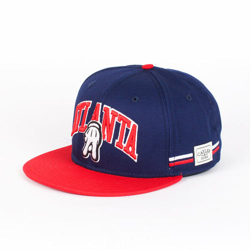 Бейсболка CAYLER & SONS Atl Cap (Deep-Navy-Red-White, O/S) engrained engrained deep rooted