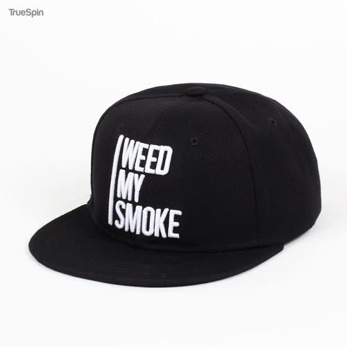 Бейсболка TRUESPIN Weed My Smoke (Black, O/S)