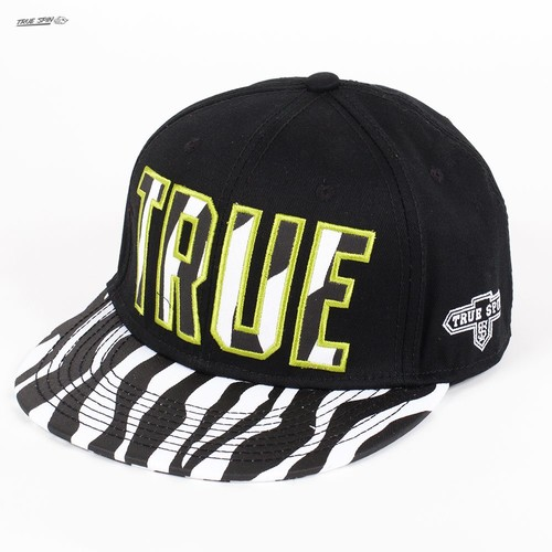 Бейсболка TRUESPIN Zebra (Black-Zebra, O/S)