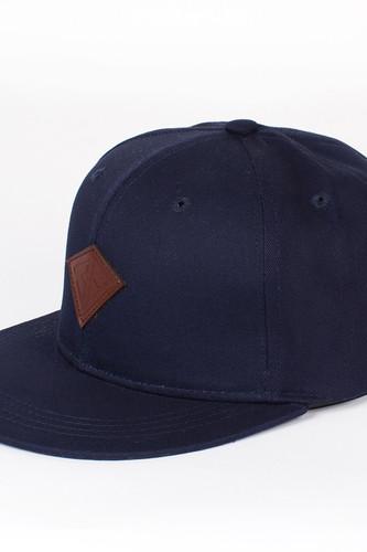 Бейсболка ЗАПОРОЖЕЦ Дефицит Снэп (Deep-Blue, O/S) цена и фото