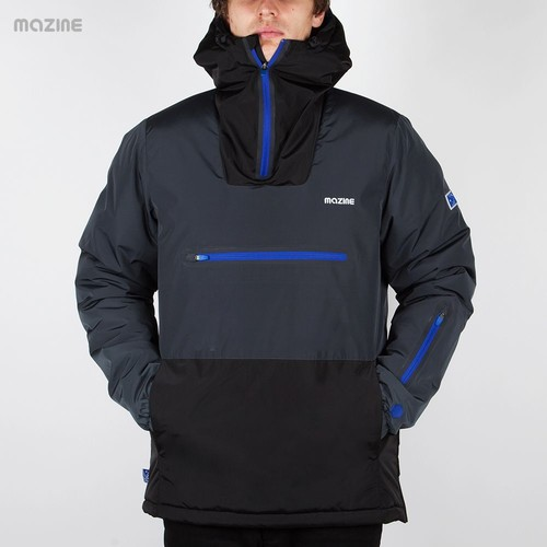 лучшая цена Куртка MAZINE Glacier Windbreaker (Black-Light-Black, XS)