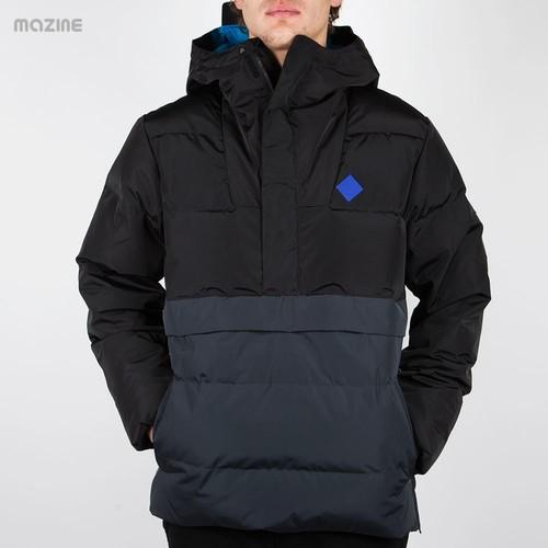 Куртка MAZINE Rockdown Windbreaker (Black-Light-Black, XS) ветровка mazine glacier light windbreaker rainy day baltic xs