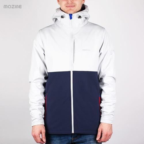 Куртка MAZINE Crag Softshell Jacket (Mazinegrey-Peacot, 2XL)