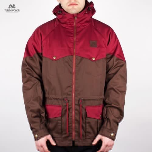 купить Куртка TURBOKOLOR Ewald Plus Jacket FW13 (Burgundy-Brown, L) по цене 1425 рублей