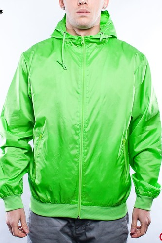 Ветровка URBAN CLASSICS Windbreaker (Limegreen, M) ветровка urban classics arrow windrunner black limegreen xl