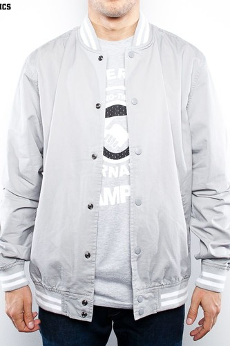 Ветровка URBAN CLASSICS Summer Cotton College Jacket (Light-Grey, M)