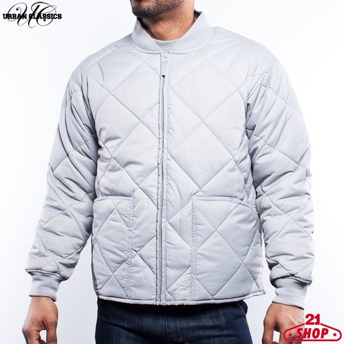 Куртка URBAN CLASSICS Hood Jacket (Grey, L) куртка urban classics long bomber jacket black 2xl