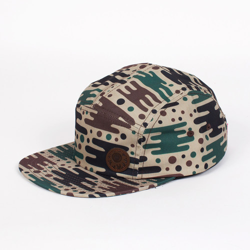 Бейсболка МИШКА Space Camo 5 Panel (Earth, O/S) бейсболка obey washington 5 panel olive o s