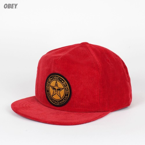 Бейсболка OBEY Luxury Snap (True-Red, O/S)