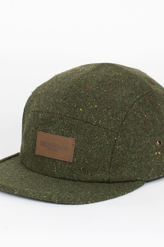 Бейсболка OBEY County 5 Panel (Army, O/S)