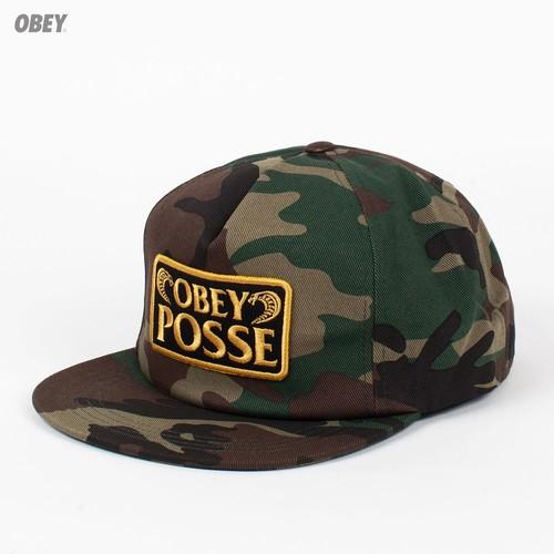 Бейсболка OBEY Los Cobras Snap (Field-Camo, O/S) цена и фото