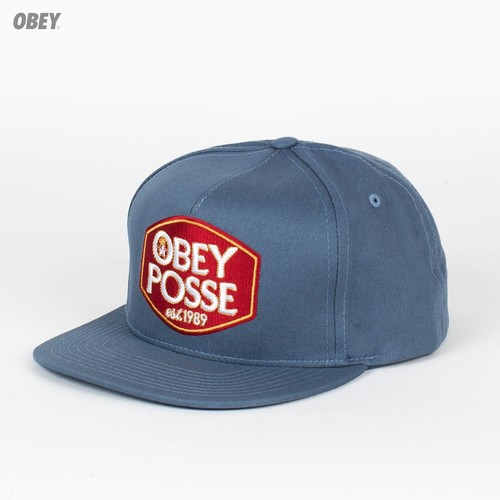 Бейсболка OBEY Forty Snap (Grey-Blue, O/S) forty autumns