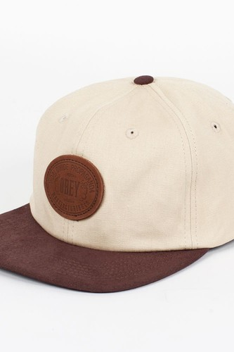 Бейсболка OBEY Newcastle Hat (Sand, O/S)