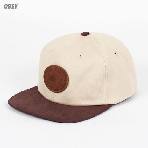 Бейсболка OBEY Newcastle Hat (Sand, O/S)