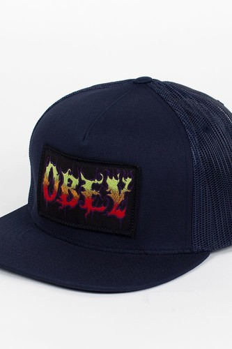 Бейсболка OBEY Sickx Trucker (Dark-Navy, O/S)