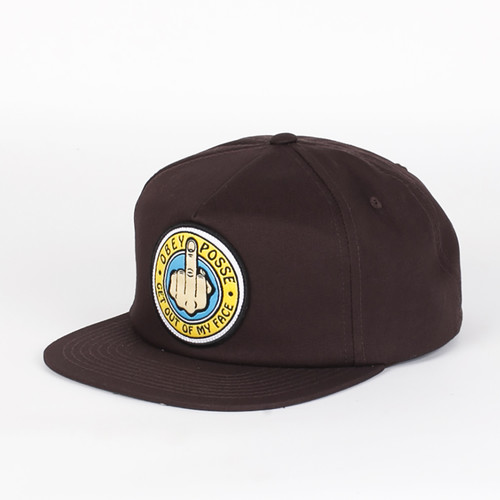 Бейсболка OBEY Out Here Snapback (Brown, O/S) бейсболка obey washington 5 panel olive o s