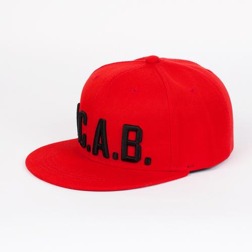 Бейсболка TRUESPIN Acab (Red, O/S) шапка true spin acab red