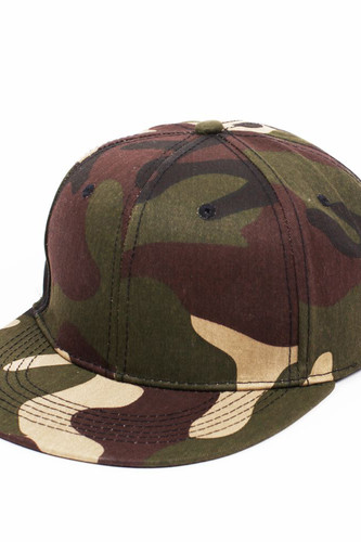 Бейсболка TRUESPIN Cotton Snapback (Green-Brown-Camo, O/S) цена