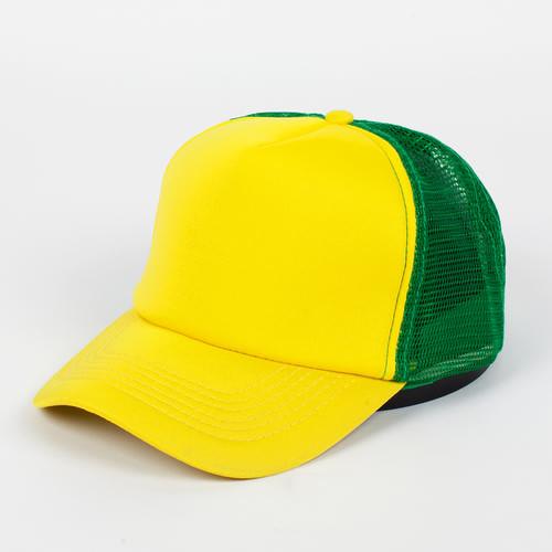 Бейсболка TRUESPIN Combo Trucker (Yellow-Green, O/S) цена 2017