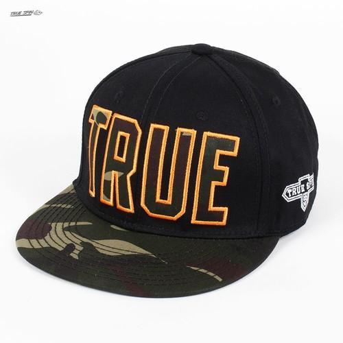 Бейсболка TRUESPIN Camo (Black-Camo, O/S) бейсболка truespin rap snap black o s