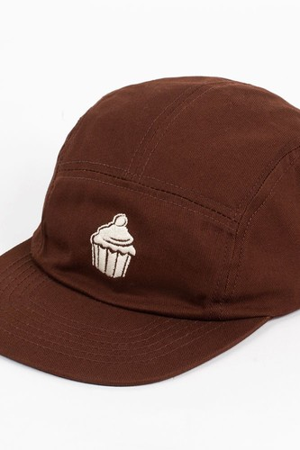 Бейсболка TRUESPIN Cup Cake 5 Panel Cap (Brown, O/S)