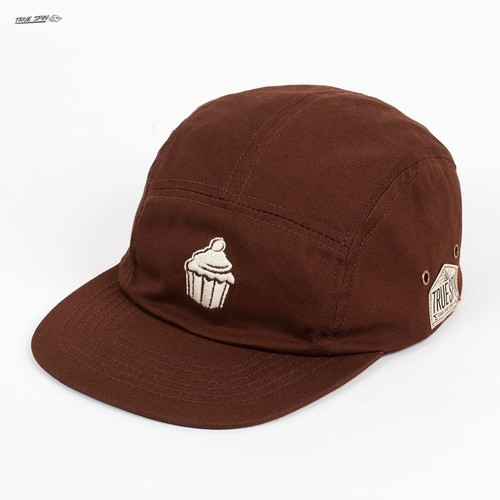 цена на Бейсболка TRUESPIN Cup Cake 5 Panel Cap (Brown, O/S)