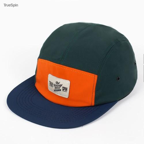 Бейсболка TRUESPIN Tokyo (Green-Orange, O/S) цены онлайн