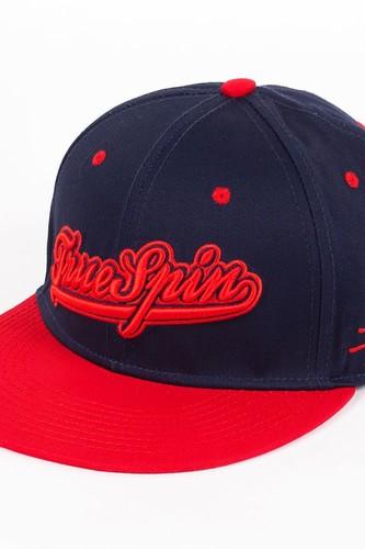 Бейсболка TRUESPIN Truespin-1 (Navy-Red, O/S)