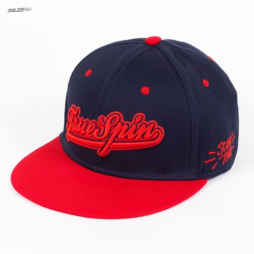 Бейсболка TRUESPIN Truespin-1 (Navy-Red, O/S) бейсболка truespin anti eye black o s