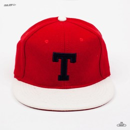 Бейсболка TRUESPIN T Wool Red-White фото 2