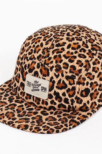 Бейсболка TRUESPIN Velcro (Leopard, O/S)