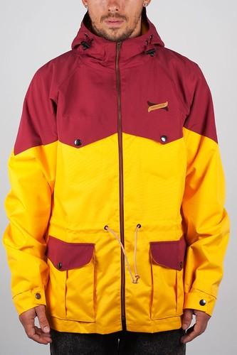 Куртка TURBOKOLOR Ewald Plus Jacket SS13 (Yellow-Red, L)
